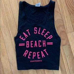 PINK beach tank Top.💕💕